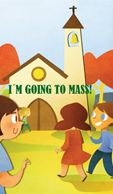 I'M GOING TO MASS! - COLECCIÓN FOLLETOS PLASTIFICADOS