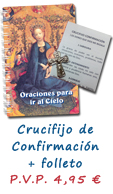 PACK CONFIRMACIÓN: CRUCIFIJO + FOLLETO