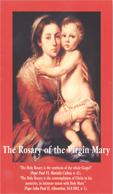 THE ROSARY OF THE VIRGIN MARY